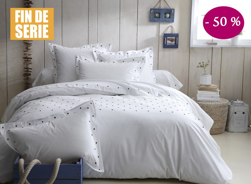 linge de lit de qualit linge de lit brod draps de lit de qualit la malle des anges la. Black Bedroom Furniture Sets. Home Design Ideas